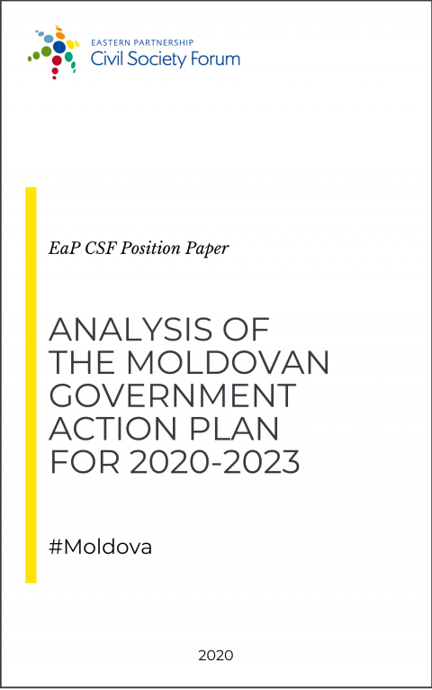 Analysis of the Moldovan Government Action Plan 2020