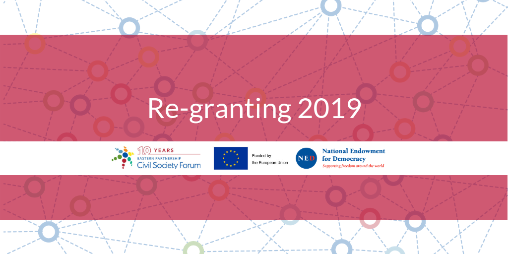 2019 EaP CSF Re-granting to Working Groups