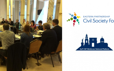 Following the Meeting in Chisinau, EaP CSF Steering Committee Addresses Moldovan National Platform's Concerns on State Capture and Money-Laundering in the Country