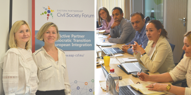 New Steering Committee Composition Meets in Brussels