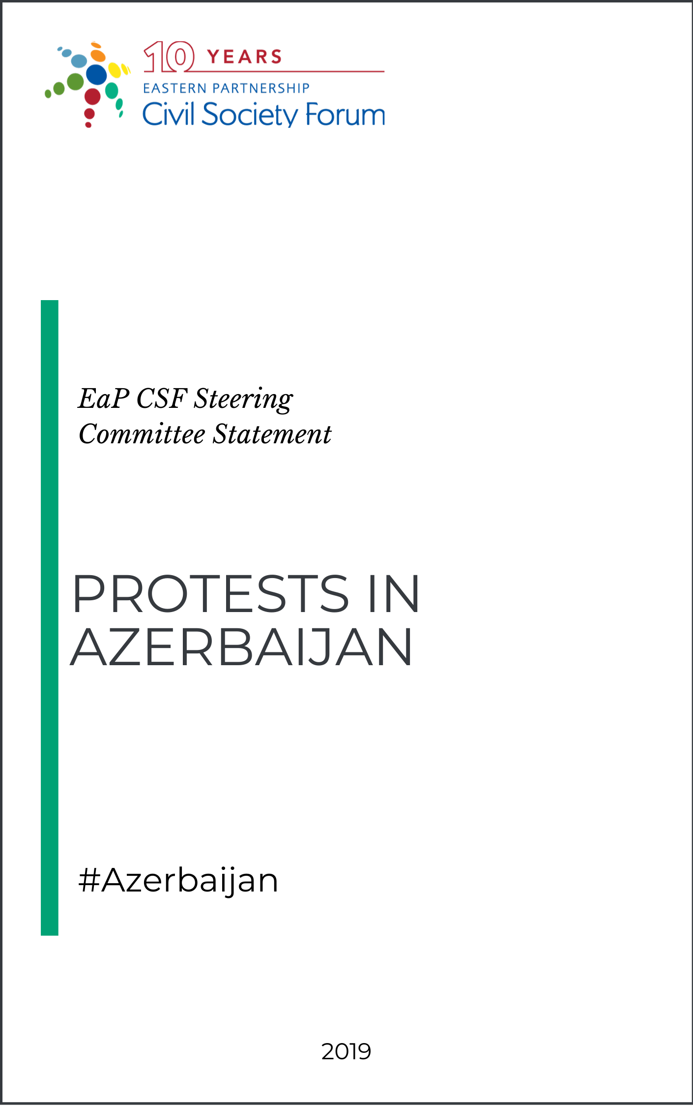 Protest in Azerbaijan