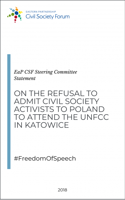 Statement on the Exclusion of Civil Society Activists from UNFCCC