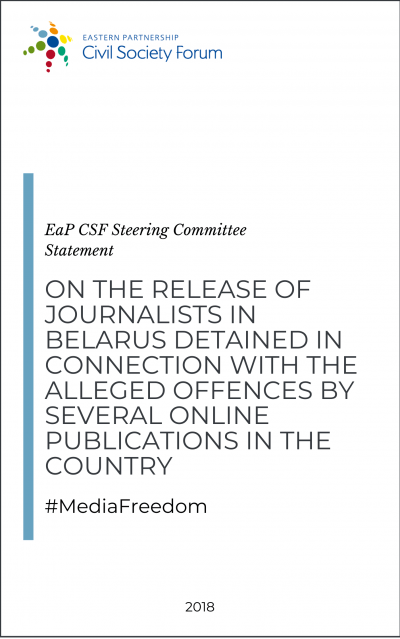 Statement on Release of Detained Journalists in Belarus