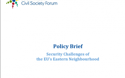 Security Challenges of the EU's Eastern Neighbourhood