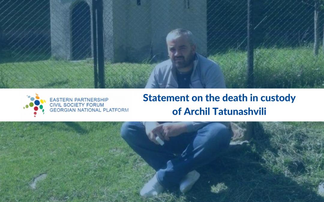 Georgian National Platform urges the handover of the Georgian citizen's body by Tskhinvali authorities