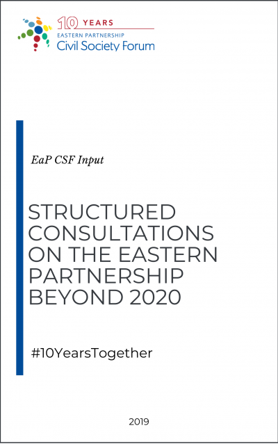 EaP CSF Structured Consultation 2019