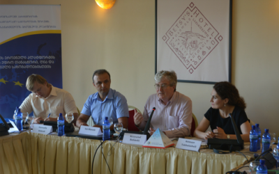 """EaP CSF Conference """"Security Challenges of the EU's Eastern Neighborhood"""" Held in Tbilisi, Georgia"""