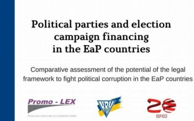 Political parties and election campaign financing in the EaP countries
