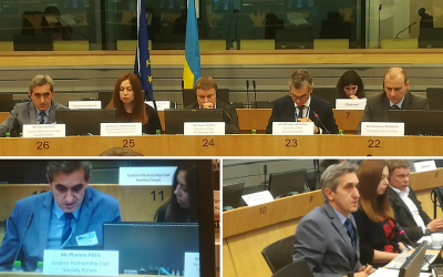 EaP CSF Addressed Environmental Cooperation Recommendations at the 6th EU-Ukraine Civil Society Platform Meeting
