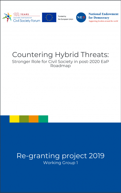 Countering Hybrid Threats: Stronger Role for Civil Society