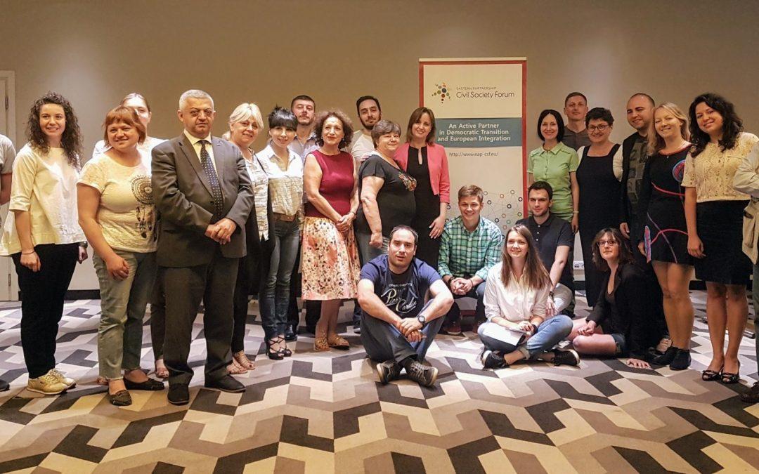 Встреча Рабочей группы №4 в Варшаве; участие в 3-ьем Молодежном Форуме ВП