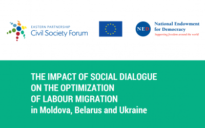 The Impact of Social Dialogue on the Optimisation of Labor Migration in Moldova, Belarus and Ukraine