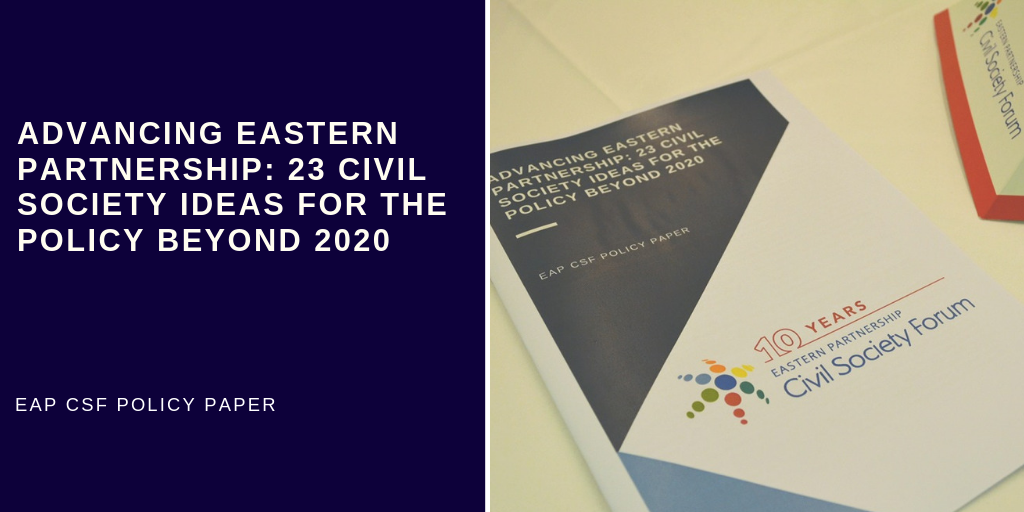 (English) 23 Civil Society Ideas for the Policy beyond 2020