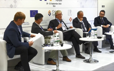 2nd Association Exchange Forum Brings Civil Society, Government Officials and EU Stakeholders to Discuss Progress on Association Agreement Implementation in Kyiv