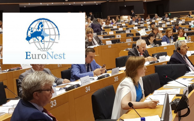 Steering Committee Co-Chairs Address Parliamentarians at the 7th Ordinary Session of the Euronest PA in Brussels